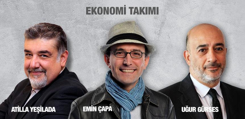 EKONOMİ TAKIMI - Atilla Yeşilada - Emin Çapa - Uğur Gürses