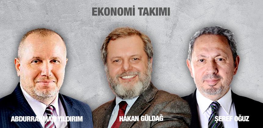 EKONOMİ TAKIMI - Abdurrahman Yıldırım - Hakan Güldağ - Şeref Oğuz